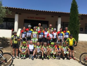 Empfang in Le Castellet